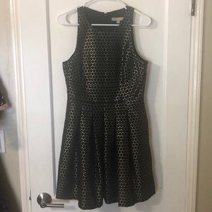 Banana Republic NWOT gold holiday dress